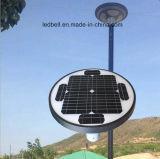 Lâmpada solar solar nova da paisagem do diodo emissor de luz do UFO da luz de rua 15W