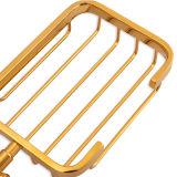 위생 상품 목욕탕 호화스러운 잘 고정된 비누 받침 및 바구니 (BaQaB1303 EL GD)