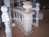 IndoorおよびOutdoorのための自然なGranite Stone Balustrade