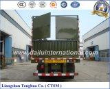 실용적인 세 배 차축 2 타이어 말뚝 또는 반 담 트럭 트레일러