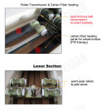 Elektrische vollständiger Rumpf-Jade-thermische hölzerne Massage-Tabelle
