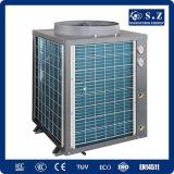 Calefacción R410A Cop4.23 12kw, 19kw, 35kw, 70kw, 105kw Dhw de Commercail para la pequeña pompa de calor del aire del calentador de agua del cuarto de baño (CE, TUV, CB, SGS)