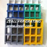 Fiberglas Grating mit Open Mesh 38*38mm