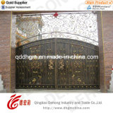 Conception de porte de cour de fer travaillé d'usine de la Chine belle