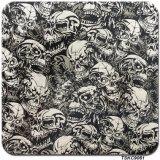 Зомби черепа пленки печатание перехода воды ширины Tsautop 1m гидрографическое окуная