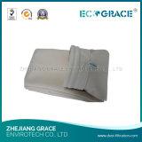 Sacchetto resistente a temperatura elevata di filtro dell'aria del tessuto filtrante di Nomex per il fumo industriale della caldaia