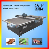 Two Heads와 Conveyor Belt를 가진 자동적인 CNC Leather Cutting Machine