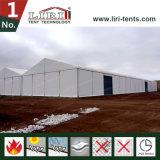 Temporäres Lager Storge Zelt verwendet als Werkstatt