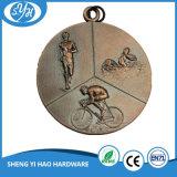 Médailles de cuivre antiques de récompense personnalisées par constructeur chinois en métal