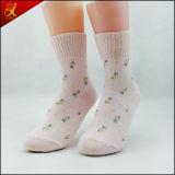 Populäre schöne kundenspezifische Dame-Kauf-Socken