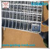 MEDIADOS DE acero galvanizado que ralla para el conducto de desagüe