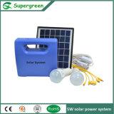 kit casero solar solar de la iluminación del sistema eléctrico 1W de la C.C. 5W