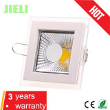 Neues Style Square Aliminum mit Glass 5With10With15W COB LED Panel Light