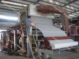 pequeña máquina del tejido de la máquina 1092m m del papel higiénico 1ton/Day, máquina de reciclaje de papel