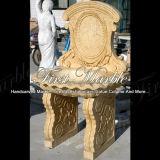 Lavabo di marmo dell'oro del deserto del lavabo del granito del lavabo della pietra del lavabo Mbm-001