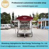 Camion rapide électrique de Foos de bonne qualité avec toutes sortes de Kichenequipment facultatif