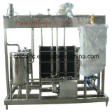 Máquina automática cheia da pasteurização da placa do leite 2000L/H