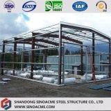 소형 축사를 위한 가벼운 강철 구조물 창고