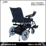 Peso ligero portable barato de moda plegable el sillón de ruedas eléctrico