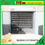 2016 più nuovo Design Full Automatic 2112 Chicken Egg Incubator e Hatcher per Egg (YZITE-15)