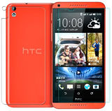 2.5D para el protector de la pantalla del vidrio Tempered del deseo 816 9h HD de HTC