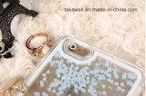 Boîtier pc liquide de sable mouvant de sable de cas de téléphone cellulaire de qualité pour le cas de couverture de téléphone portable de l'iPhone 5/5s/Se/6/6s