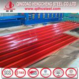 PPGL Zincalume beschichtetes gewelltes Stahldach-Blatt färben