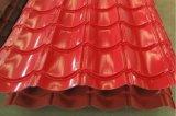 Tetto del galvalume di PPGI PPGL/Prepainted/strato ondulato galvanizzato del tetto dello zinco dello strato