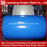 A cópia Desinged Prepainted bobinas de aço galvanizadas no azul