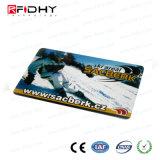ユニバーサル無接触の白い光沢PVCカード