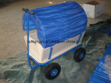 Bebê da alta qualidade ou carro de madeira do vagão dos miúdos