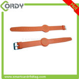 Красный голубой желтый wristband цвета MIFARE классицистический 1k 13.56MHz RFID