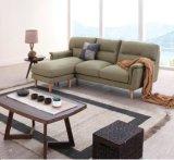 بناء أريكة كبير مع وسادات غنيّ بالألوان لأنّ يعيش غرفة أثاث لازم