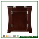 Casella di memoria di legno dei monili del nero di stile di Tranditional con 4 cassetti
