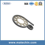 Pezzo fucinato di industria per la catena e la ruota dentata della trasmissione del rullo