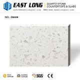 安い全光っている大きい穀物の白い人工的な水晶Stone 平板