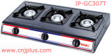 Tre Burner Gas Cooker in Grey Coating di Jp-Gc307t