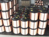 Draad van het Aluminium van het koper de Beklede (0.10.14mm)