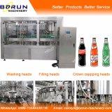 Máquina de rellenar de las bebidas carbónicas para la botella de cristal
