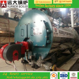 La Cina Famous Brand High Efficiency Oil Diesel Fired 1 Ton Steam Boiler per Milk Processing Factory