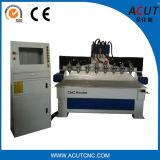 Acut-1325 Mult 헤드 목공 기계장치, SGS를 가진 CNC 대패 기계. 세륨