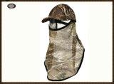 옥외 운동을 하는 사람들을%s 가면을%s 가진 Camo 모자