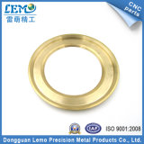 CNC Turned Parte con Gold Zinc Plated (LM-0526P)