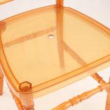 Silla de acrílico anaranjada de Napoleon para la boda y el acontecimiento