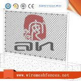 PVC Coated Chain Link Diamond Fence