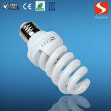 Pleines ampoules économiseuses d'énergie de la spirale 24W, lampe fluorescente compacte, CFL