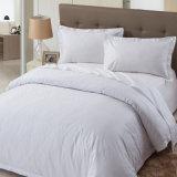 Ensemble d'hôtel de modèle de plaine moderne de lit/à la maison blanc de literie