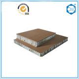 Materiales de la decoración del edificio hechos de la base de panal de aluminio