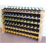 72本のびんの純木のワインの記憶の陳列だな