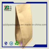 Il fornitore della Cina si leva in piedi in su il sacchetto a chiusura lampo della carta kraft Per l'imballaggio del tè del caffè